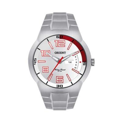Orient Relogios - Relógio de pulso com calendário e caixa em aço inoxidável.