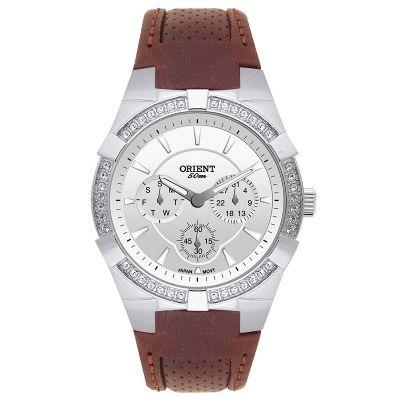 Orient Relogios - Relógio de pulso confeccionado em aço inoxidável.