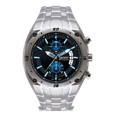 Orient Relogios - Relógio de pulso esportivo, confeccionado em aço inoxidável.