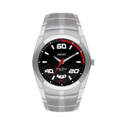 Orient Relogios - Relógio de pulso com vidro em cristal mineral