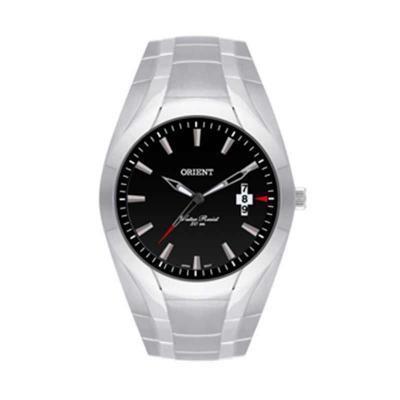 Relógio de pulso confeccionado em aço inoxidável. - Orient Relogios