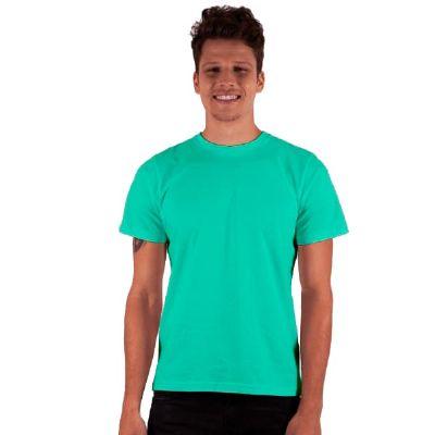 camisa-dimona - Camiseta masculina Classic em 100% algodão personalizada com cores variadas