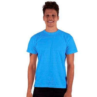 camisa-dimona - Camiseta em 100% algodão penteada personalizada com cores variadas