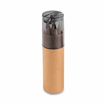 Polymark Produtos Promocionais - Kit lápis de cor com apontador