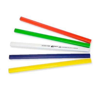 Polymark Produtos Promocionais - Lápis carpinteiro formato retangular, mina resistente com graduação HB, traço escuro, ideal para carpinteiros, pintores, marceneiros, etc.