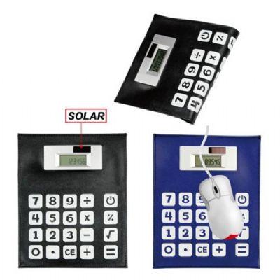 Polymark Produtos Promocionais - Calculadora solar flexível que pode ser utilizada como mouse pad.