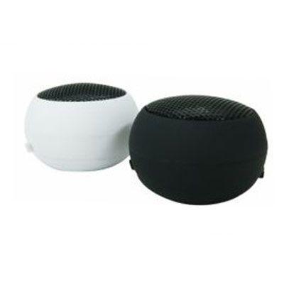 Polymark Produtos Promocionais - Mini caixa de som redondo