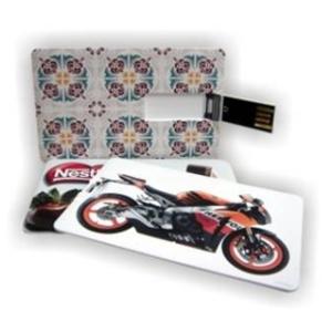 Polymark Produtos Promocionais - Pen card 2 Gb com personalização em 4 cores dos dois lados.