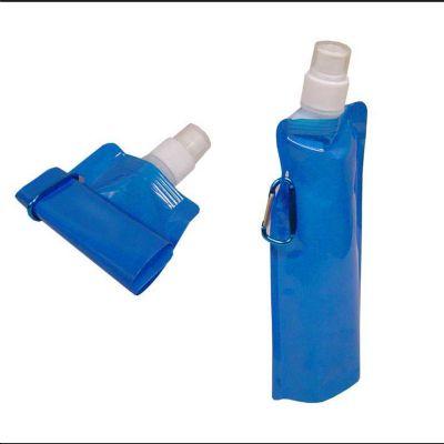 Polymark Produtos Promocionais - Squeeze dobrável - capacidade 480  ml