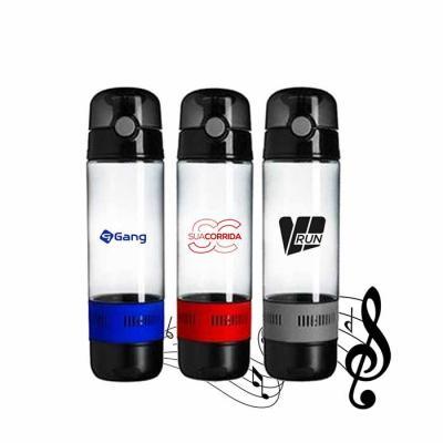 promoline-brindes-personalizados - Squeeze Acqua Som com Bluetooth 520 ml