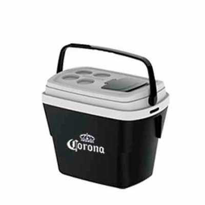 promoline-brindes-personalizados - Caixa Térmica Modelo Tropical com capacidade para 28 litros design diferenciado, exclusiva tampa de acesso rápido que facilita o uso, alças laterais e...