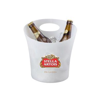 promoline-brindes-personalizados - Balde de gelo de PP 4,5 litros para garrafas grandes