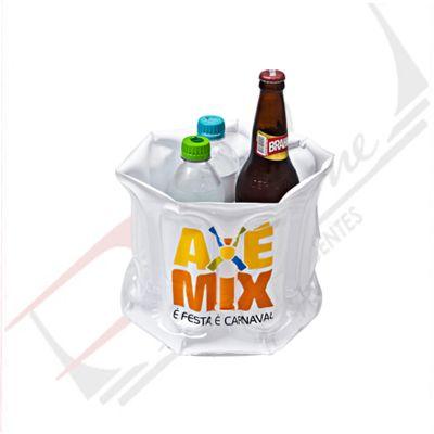 promoline-brindes-personalizados - Balde de gelo em PVC inflável 24x20 cm