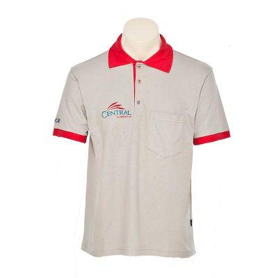 Promoline Brindes Personalizados - Camiseta Pólo Unissex 100% Algodão Color