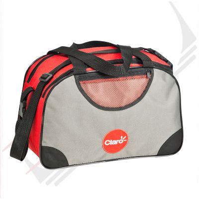 Promoline Brindes Personalizados - Bolsa pequena sports 2 divisórias 38x24x18