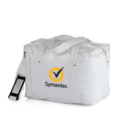 Bolsa Térmica Capacidade para 16,8 litros, produzida em PVC 0.20 em cores básicas sólidas brilhan...