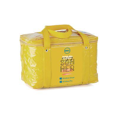 Promoline Brindes Personalizados - Bolsa térmica com capacidade para 17 litros. 34x24x20 cm