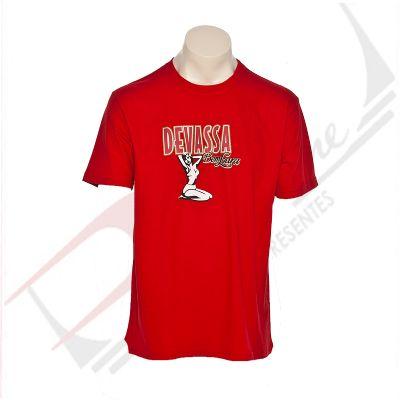 Camiseta careca unissex 100% algodão color - Promoline Brindes Personalizad...