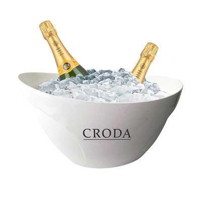 Balde Champagne Gelo 12 Litros em PS Cristal.