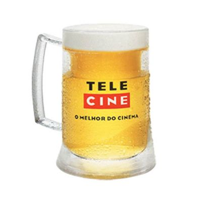 Caneca chopp com gel térmico PS 400 Ml