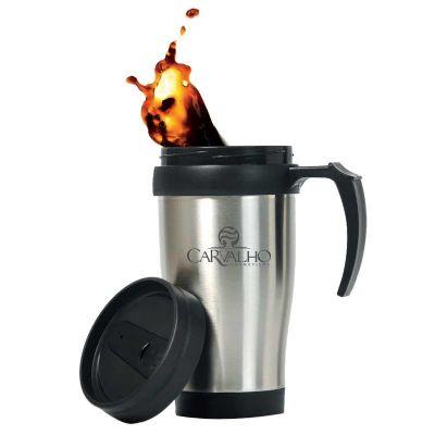 promoline-brindes-personalizados - Caneca térmica aço inox 410 Ml