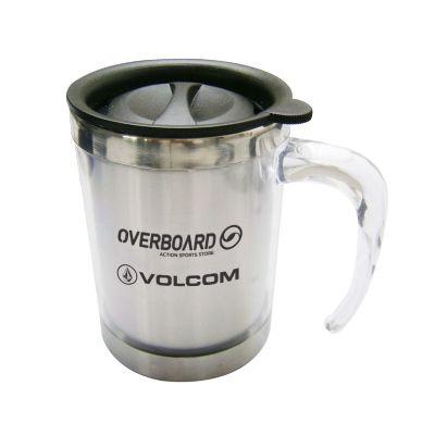 Promoline Brindes Personalizad... - Caneca térmica cristal baixa 400 ml.