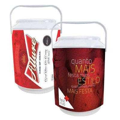 promoline-brindes-personalizados - Cooler isotérmico midi p/ 10 latas