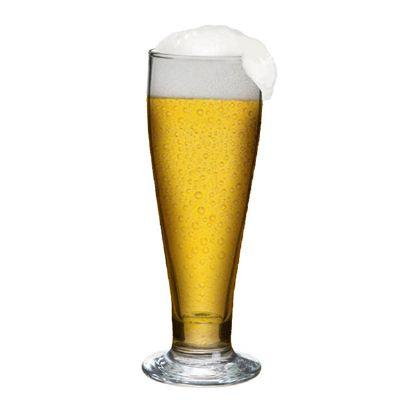 Promoline Brindes Personalizados - Copo tulipa cerveja padrão 300 Ml.
