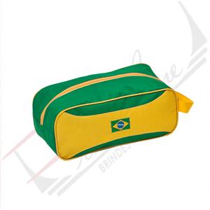 Promoline Brindes Personalizados - Porta tênis ou sapato com recortes 3 x 15 x 15 cm