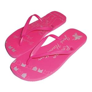 Sandálias unissex logo traço nas palmilhas - Promoline Brindes Personalizad...