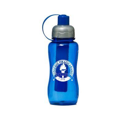 Promoline Brindes Personalizados - Squeeze pop Gelfreeze PET 400 ml.