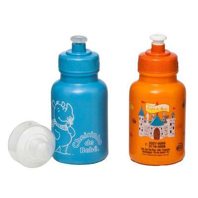 Promoline Brindes Personalizados - Squeeze Mini Capacidade de 300 Ml. produzido em polietileno de baixa densidade / material virgem com grau de toxidade = a zero seguindo normas interna...