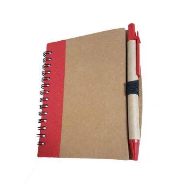 Caderneta para anotação e caneta - Queen's Brindes