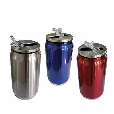 queens-brindes - Cantil de metal 300 ml