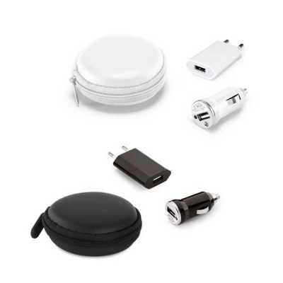 Kit de adaptadores USB - Queen's Brindes