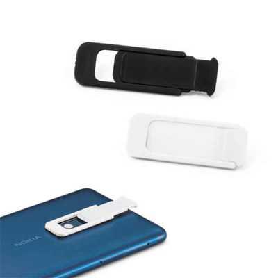 Queen's Brindes - Protetor para webcam. PP. Com tampa deslizante e autocolante no verso. Formato universal para smartphone, tablet, notebook e computador de secretária....