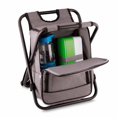 Bolsa térmica 10 litros com conversão em cadeira. Bolsa confeccionada em nylon, possui compartime...
