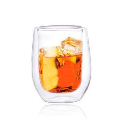 Copo Cristal Double Wall Whiskye - 240ml - Elegance