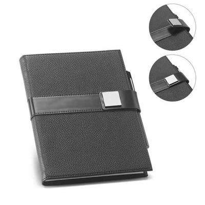 O EMPIRE é um caderno A5 de design moderno, minimalista e com toque business. A capa rígida em po...