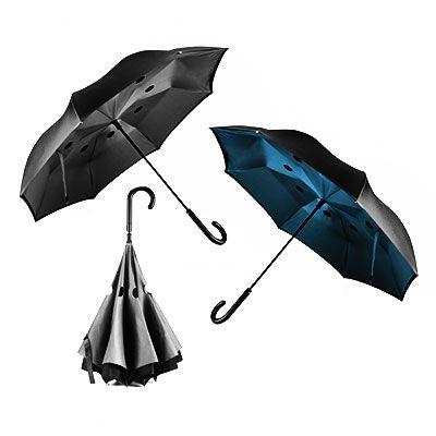 Queen's Brindes - Guarda-chuva reversível