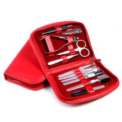 Queen's Brindes - Kit manicure com 11 peças