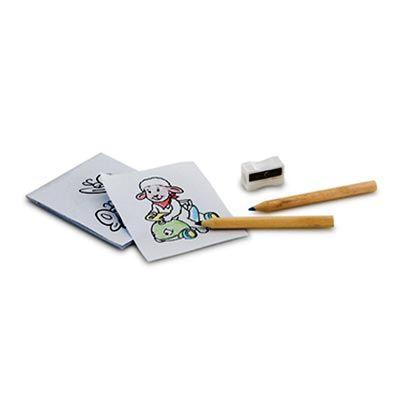 Kit para pintar em caixa de cartão - Queen's Brindes