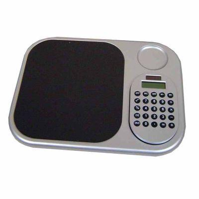 Queen's Brindes - Mouse pad com calculadora. Gravação em serigrafia.
