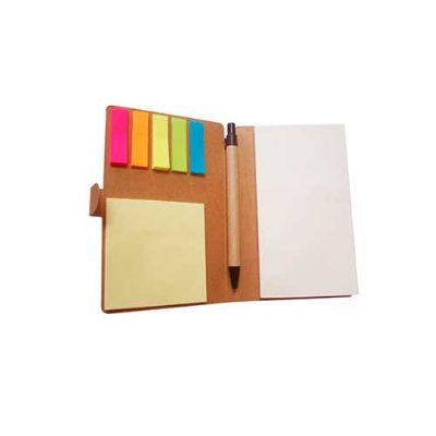 Servgela - Bloco de anotação personalizado ecológico.