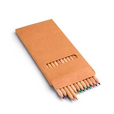 Servgela - Caixa de lápis de cor para brindes