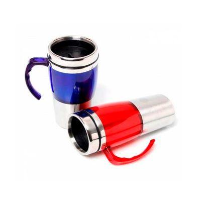 Servgela - Canecas de alumínio personalizada com capacidade de 470 ml e personalização da logomarca em laser.