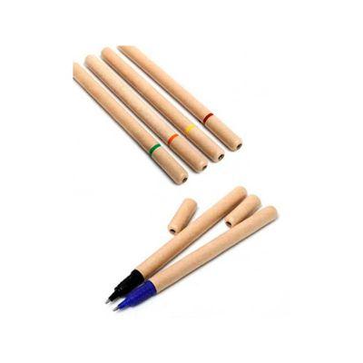 servgela - Caneta ecológica personalizada, 6 opções de cores