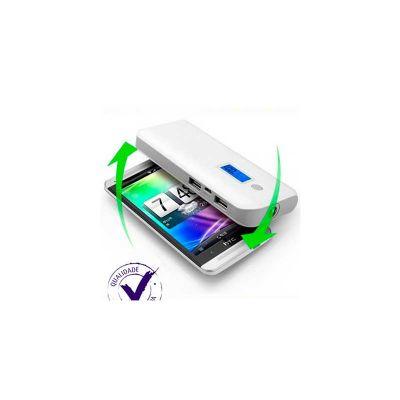 servgela - Carregador de Bateria Portatil com indicador digital de bateria.
