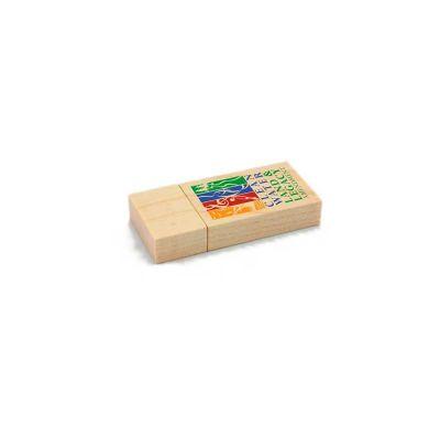 servgela - Pen drive Ecológico em madeira.