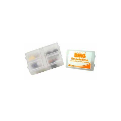 Servgela - Porta comprimidos personalizado em polietileno.